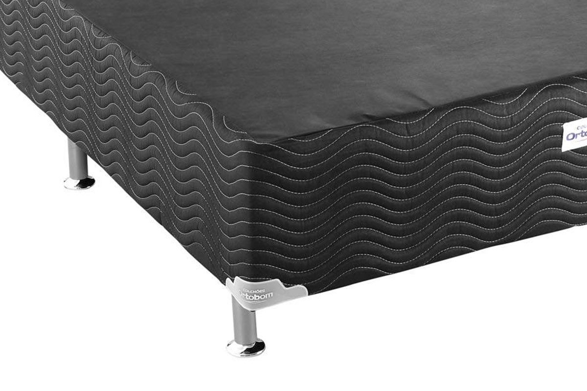 Cama Box Base Ortobom Physical Black 20